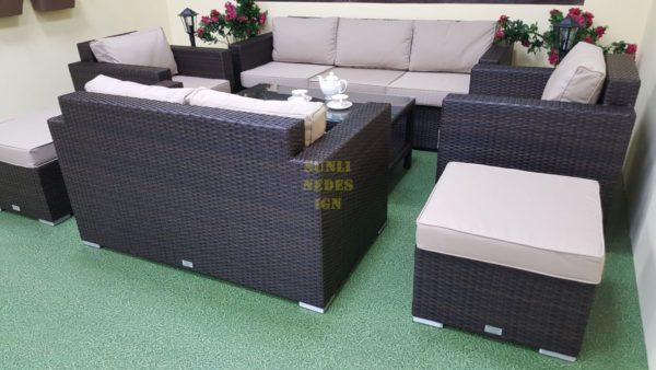 Фото-Плетеная мебель Acoustic maxi brown
