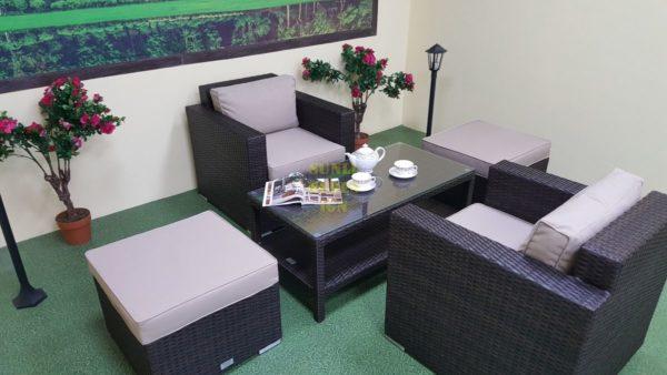 Фото-Садовая мебель из ротанга Acoustic balcony set