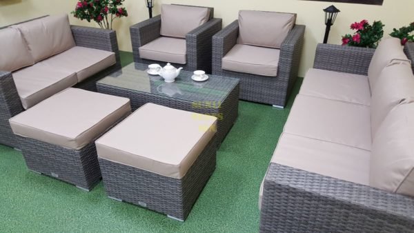 Фото-Комплект плетеной мебели Allegro natur&beige