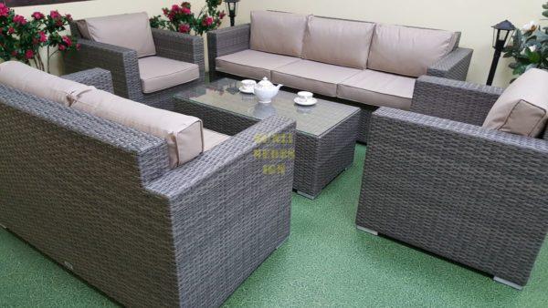 Фото-Мебель из ротанга Allegro natur&beige