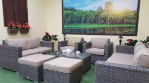 Фото-Садовая мебель из ротанга Allegro natur&beige