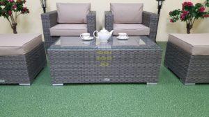 Фото-Allegro natur&beige balcony set Садовая мебель