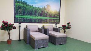 Фото-Плетеная мебель Allegro natur&beige relax