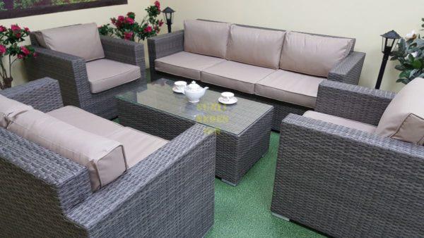 Фото-Allegro natur&beige set 1 Плетеная мебель