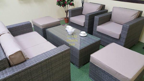 Фото-Allegro natur&beige set 3 Мебель из ротанга
