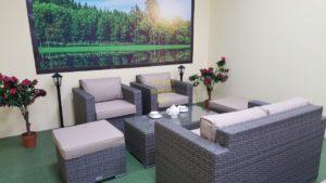Фото-Плетеная мебель Allegro natur&beige set 3