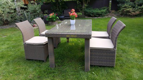 Фото-Комплект плетеной мебели Infinity & Rose cafe set