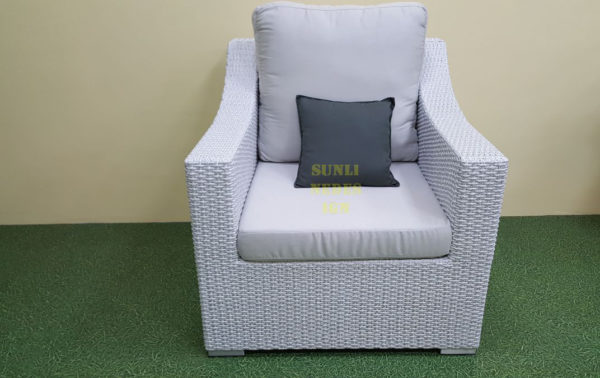 Фото-Кресло из искусственного ротанга Pegas