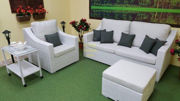 Фото-Pegas White плетеная мебель Sinlindesign