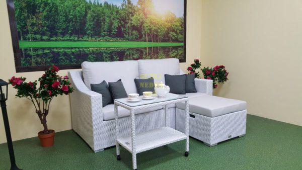 Фото-Pegas patio set мебель из искусственного ротанга