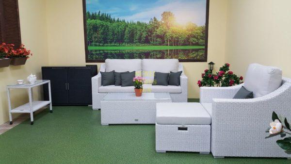 Фото-Pegas white плетеная мебель