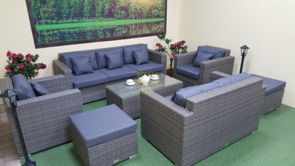 Фото-Плетеная мебель Allegro natur&grey maxi
