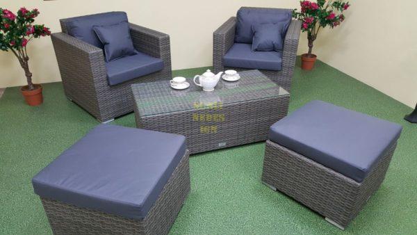 Фото-Плетеная мебель Allegro natur&grey bacony set