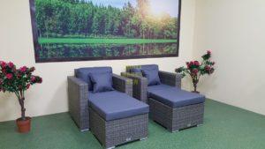 Фото-Плетеная мебель Allegro natur&grey relax