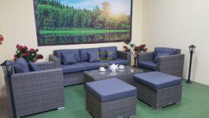 Фото-Плетеная мебель Allegro natur&grey set 1