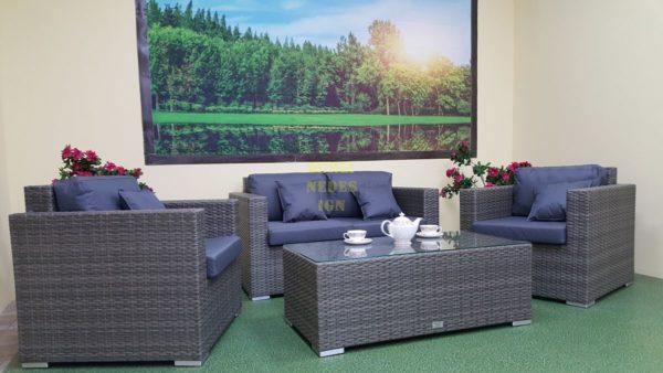 Фото-Плетеная мебель Allegro natur&grey set 3