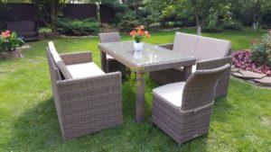Фото-Плетеная мебель Infinity & Rose 160 2+2