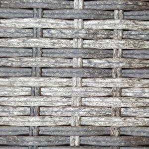 Фото - производство плетеной мебели Искусственный ротанг 2 Round Royal brown grey
