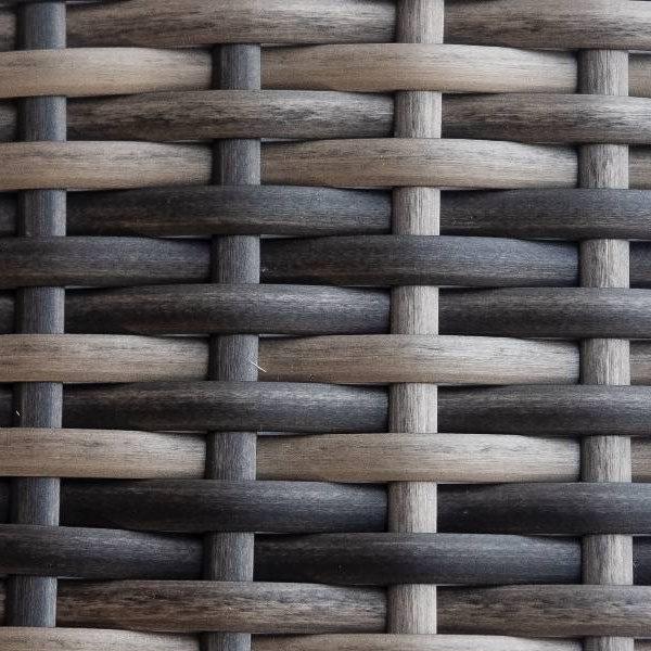 Фото-Искусственный ротанг Flat Teak olive / Производство мебели экоротанг