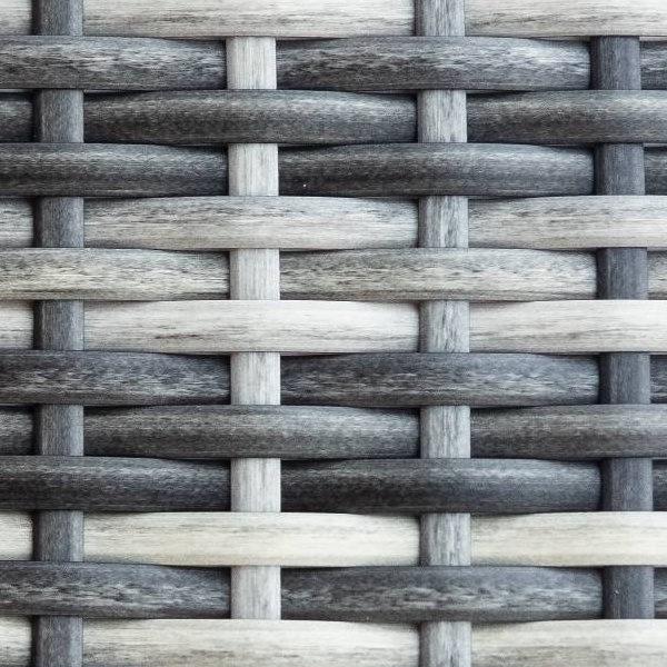 Фото-Искусственный ротанг Flat Teak grey / Производство плетеной мебели