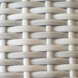 Фото-Искусственный ротанг Teak white фабрика плетеной мебели