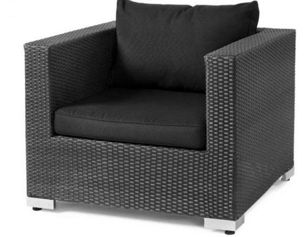 Фото-Кресло из искусственного ротанга Ремонт мебели