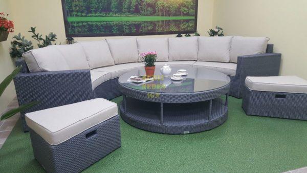Фото-Комплект мебели на террасу Meridiana lounge