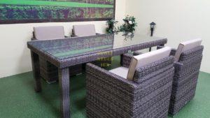 Фото-Infinity 200 brown grey 4 Мебель из ротанга искусственного