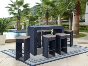 Фото-Плетеная барная мебель Oceanic