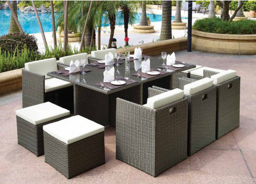 Фото-Плетеная мебель Barbados brown grey