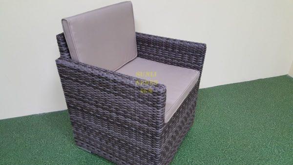 Фото-Плетеное кресло Infinity brown grey Sunlinedesign