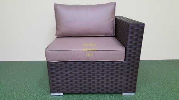 Фото-Jazz диван из искусственного ротанга модуль угловой