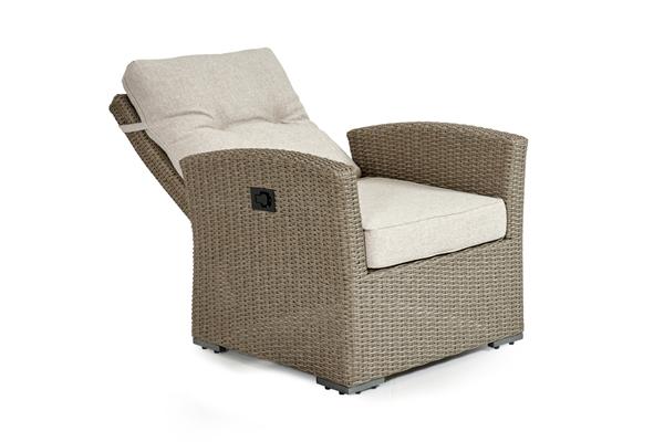Фото-Ashfield beige позиционное кресло из ротанга 3752-20-02