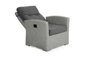 Фото-Ashfield grey 3752-71-78 позиционное кресло из ротанга