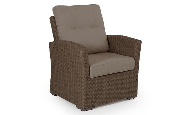 Фото-Ashifield beige кресло плетеное Brafab