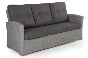 Фото-Ashifield grey диван из искусственного ротанга