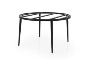 Callander D130 black Стол садовый круглый подстолье