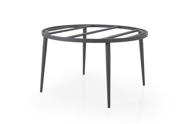 Callander D130 grey Стол садовый круглый подстолье