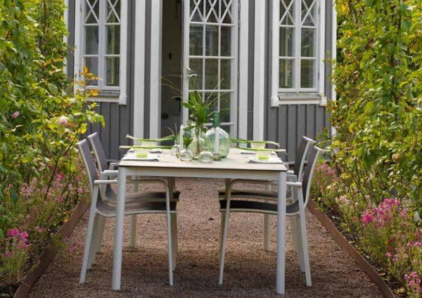 Фото-Renoso Садовая мебель алюминиевая Brafab