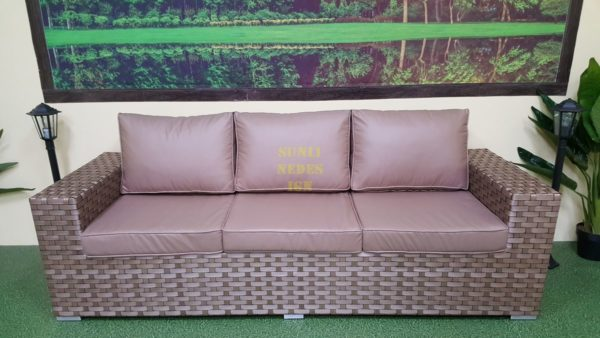 "Фото-Плетеный диван ""Cinzano"" beige"