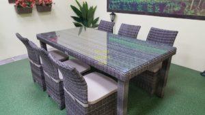 Фото-Infinity & Rose brown grey 6 Плетеная мебель
