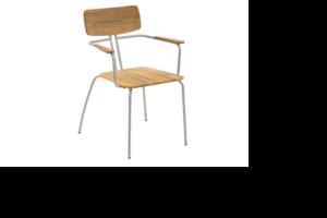 Kozani Кресло садовое из тика арт. 2151