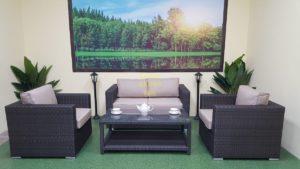 Фото-Плетеная мебель Louisiana lounge brown
