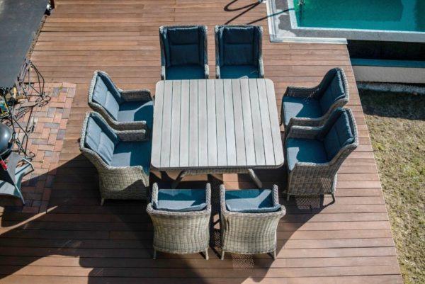 Фото-Napoli Садовая мебель из искусственного ротанга