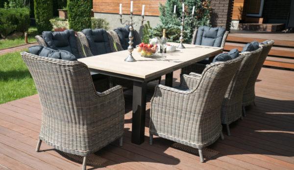 Фото-Parkland & Bergamo 8 Плетеная мебель