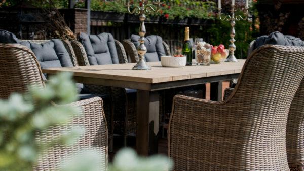 Фото-Parkland & Bergamo Садовая мебель столовая