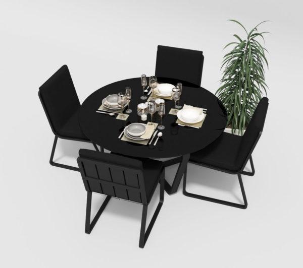 """Фото-Садовая мебель """"Primavera"""" model 1 carbon black Gardenini"""