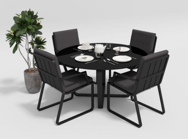 "Садовая мебель ""Primavera"" model 2 carbon anthracite"