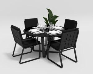 """Фото-Садовая мебель """"Primavera"""" model 2 carbon black"""