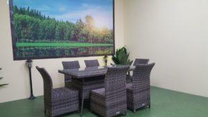 Фото-Rose brown grey Плетеная мебель